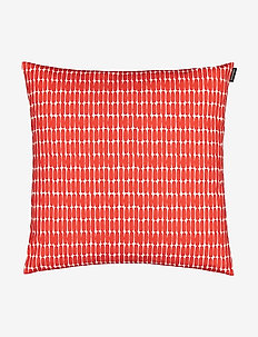 ALKU CUSHION COVER - housses de coussins - white, red