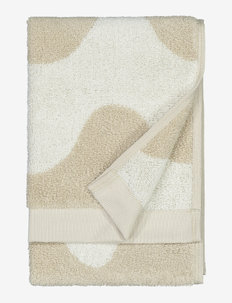 LOKKI GUEST TOWEL - hand towels & bath towels - beige, white