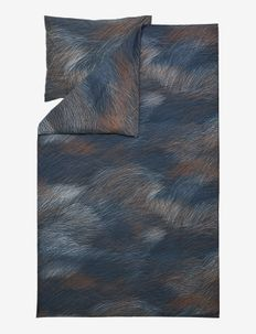 LEPO DUVET COVER 150X210 CM - pussilakanat - dark blue/ light blue/ copper