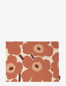 PIENI UNIKKO ACRYL COATED PLACEMAT - sets de table et dessous de verre - linen, orange, burgundi