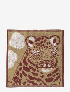 KAKSOSET MINI TOWEL - håndklæder - beige, burgundy