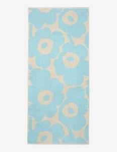 UNIKKO BATH TOWEL - håndklæder - off-white, light blue