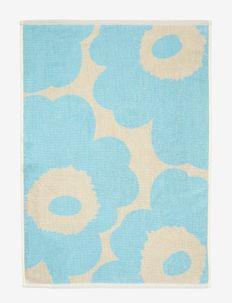 UNIKKO HAND TOWEL - håndklæder - off-white, light blue