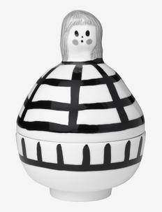 RAUHA COLLECTIBLE - mini boxes - white, black, gray