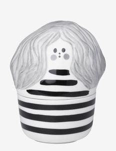 ANNIKKI COLLECTIBLE - figurines et sculptures en porcelaine - white, black, gray