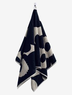 UNIKKO HAND TOWEL 50X70 CM - håndklæder - black/sand
