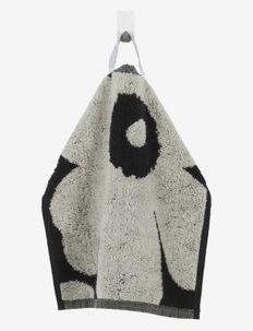 UNIKKO MINI TOWEL 30X30 CM - håndklæder - black/sand