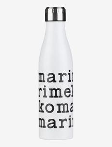 LOGO BOTTLE 500ML - termospullot - white black