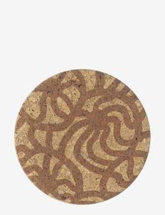 JOONAS CORK LID - lids & accessories - brown