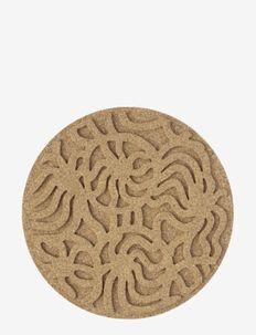 JOONAS CORK TRIVET - pot coasters - brown