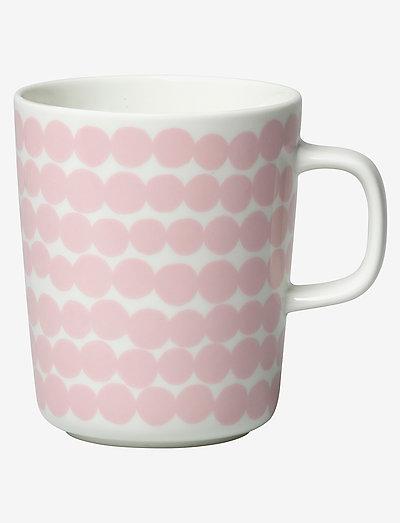 SIIRTOLAPUUTARHA MUG 2,5DL - kaffekopper - white, pink