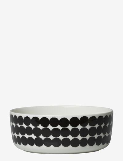 SIIRTOLAPUUTARHA BOWL - serveringsskåle - white,black/räsymatto