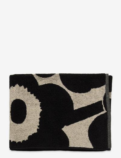 UNIKKO HAND TOWEL - håndklæder - black,sand