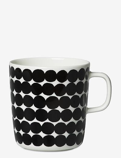 RÄSYMATTO MUG - kaffekopper - white, black