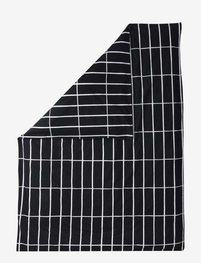 TIILISKIVI DUVET COVER - dynebetræk - black, white