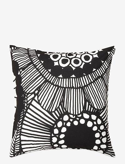 SIIRTOLAPUUTARHA CUSHION COVER - puder - white, black