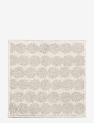 RÄSYMATTO MINITOWEL - håndklæder - white, light grey