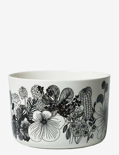 SIIRTOLAPUUTARHA BOWL - serverings & anretningsfade - white, black