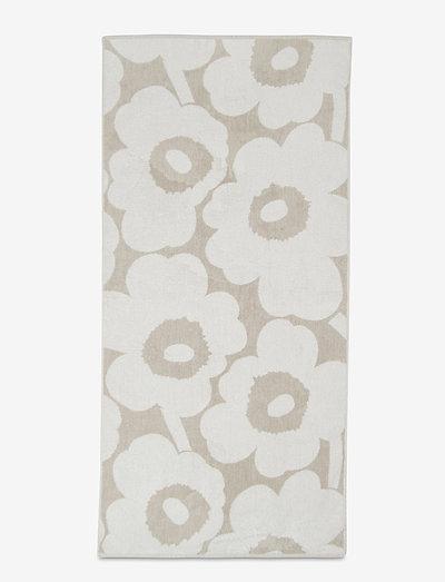 UNIKKO BATH TOWEL - håndklæder - beige, white