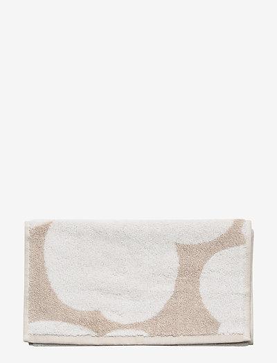UNIKKO GUEST TOWEL - håndklæder - beige, white
