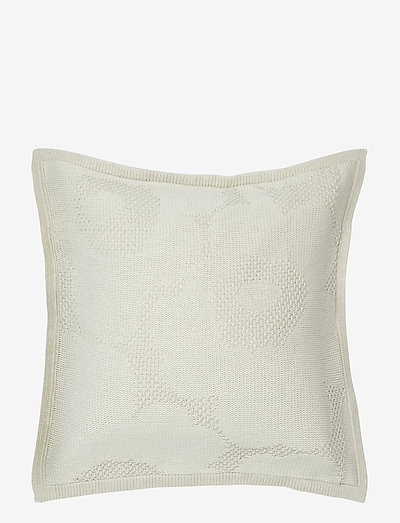UNIKKO KNITTED CUSHION COVER - puder - off-white