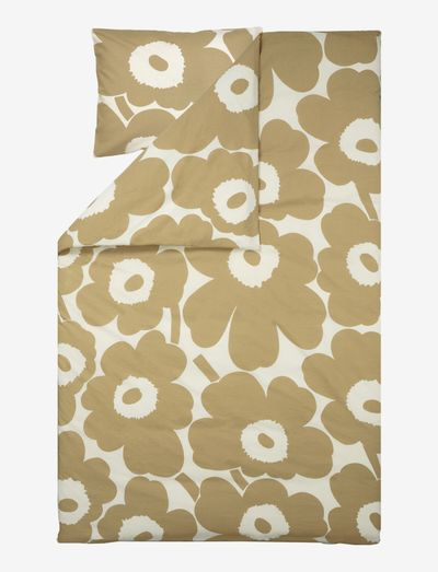 UNIKKO HEMP/COTTON DUVET COVER - dynebetræk - cotton, beige
