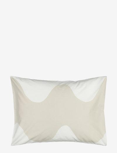 LOKKI PILLOW CASE - pudebetræk - white, beige