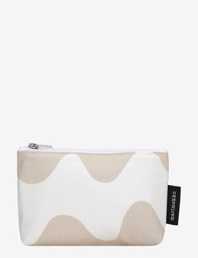 EELIA PIKKU LOKKI - toilettasker - white, beige