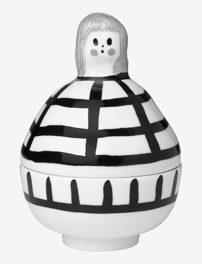 RAUHA COLLECTIBLE - opbevaring - white, black, gray