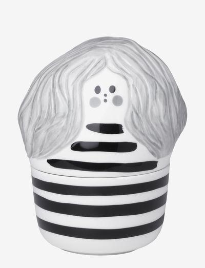 ANNIKKI COLLECTIBLE - skulpturer & porcelænsfigurer - white, black, gray