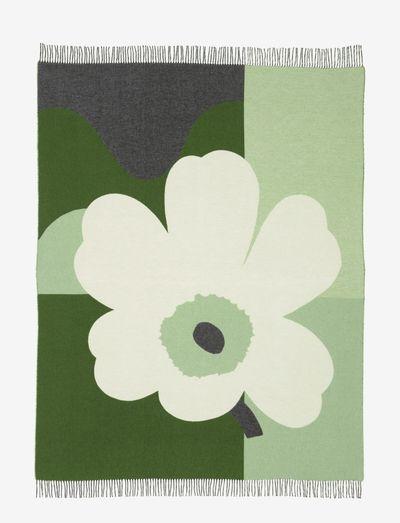 CO-CREATED BLANKET - plaider & sengetæpper - green, white