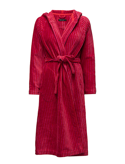 SIRO MARI BATHROBE - RED, PINK
