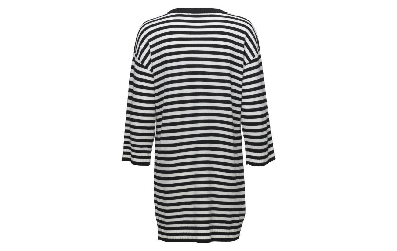 Black White Tasaraita Laine 100 Off Tunic Marimekko Tähkiö Knitted wq1C7z7