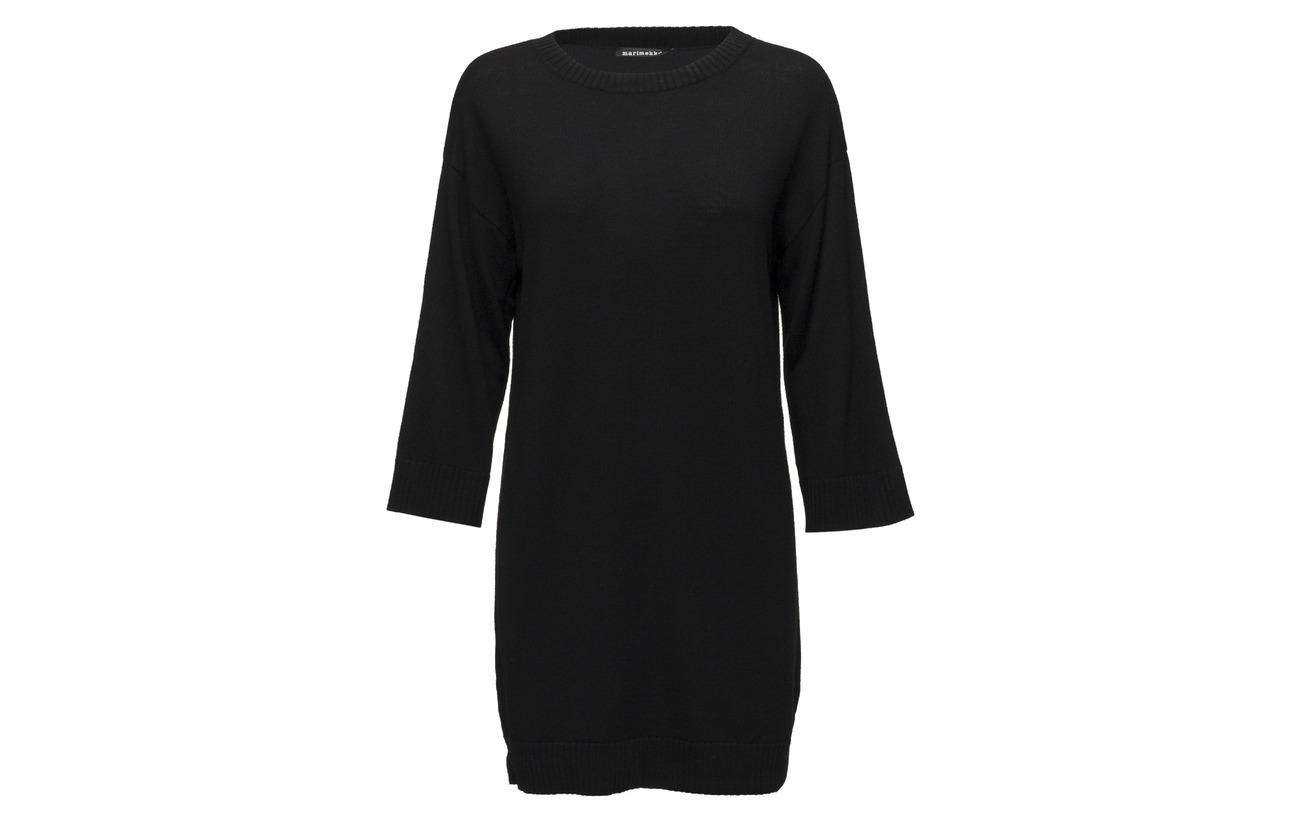Solid Marimekko Laine Tähkiö Black Tunic 100 Knitted ZqnBrqp7