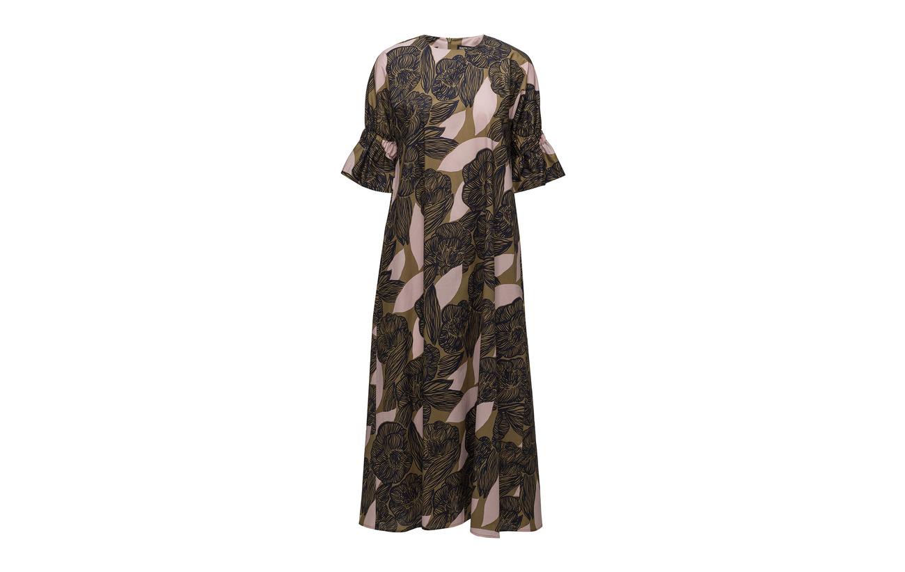 Brown Coton Peach Amur Marimekko 100 Dress Juliaana 0xHfqAptw