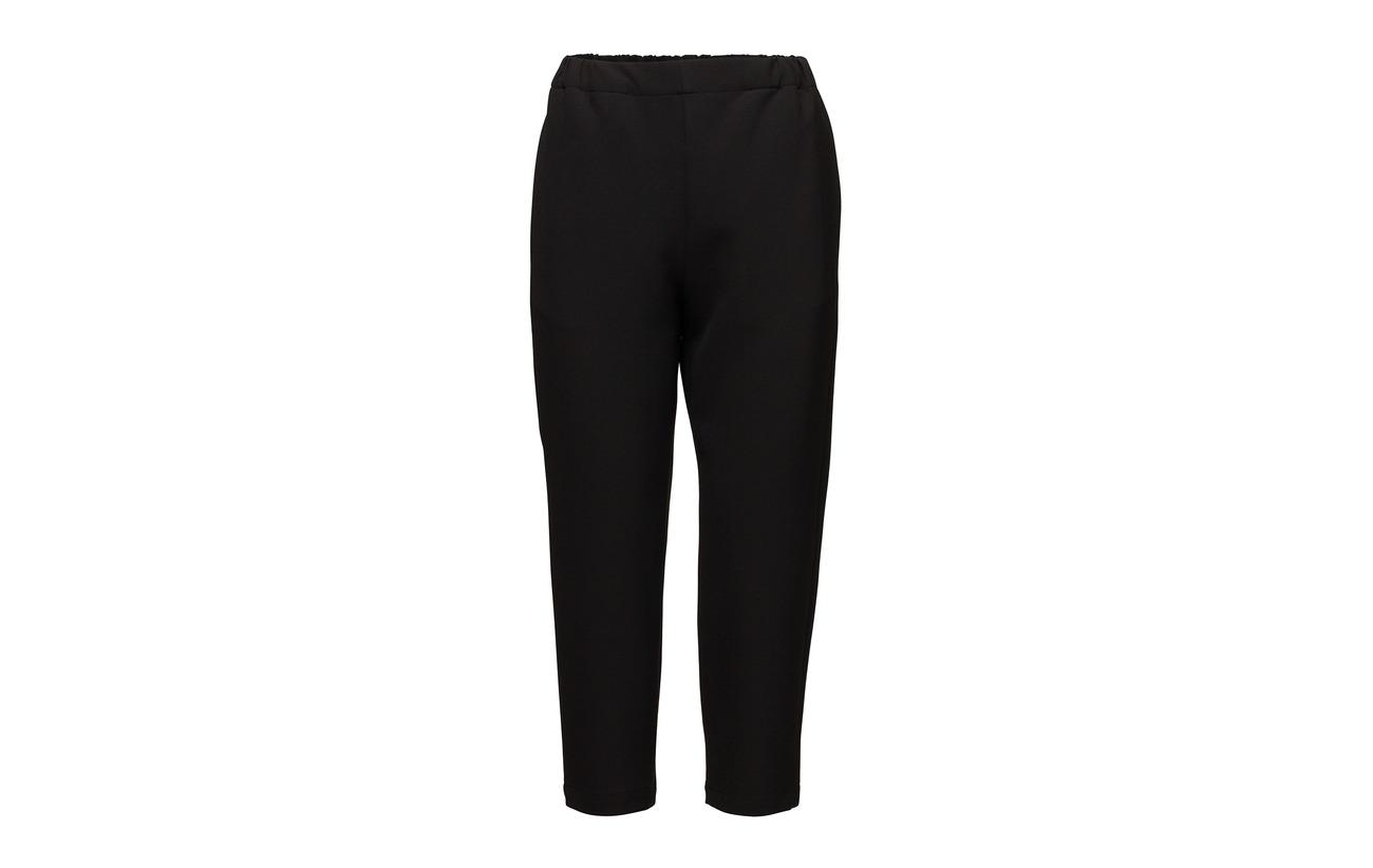 Elastane Solid Elena 3 Black Viscose Trousers 7 Marimekko 63 Polyester 27 Coton p6wBHqCxC