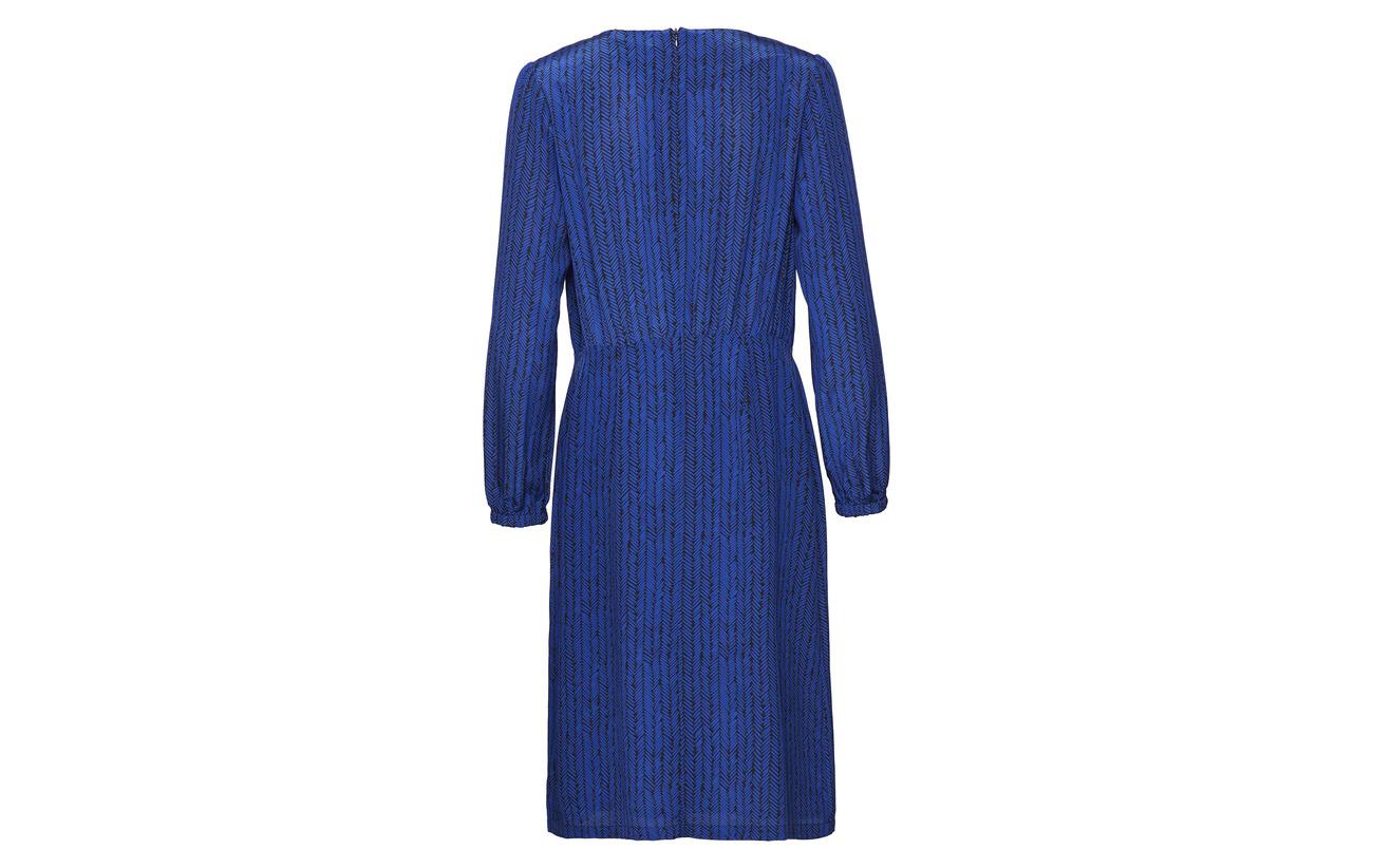 Équipement Black 100 Intérieure Soie Dress Korpikuusi Polyester Blue Marimekko Doublure Miija 6gRczBqUZW