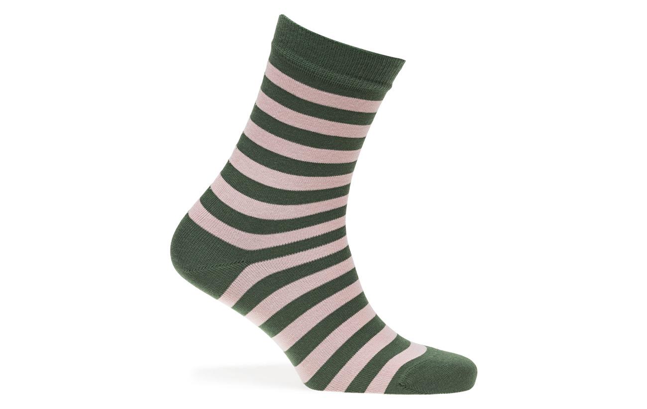 Marimekko Socks Green Raitsu Polyamide 35 Ankle Dark 65 Coton Light Pink BEwrBIq