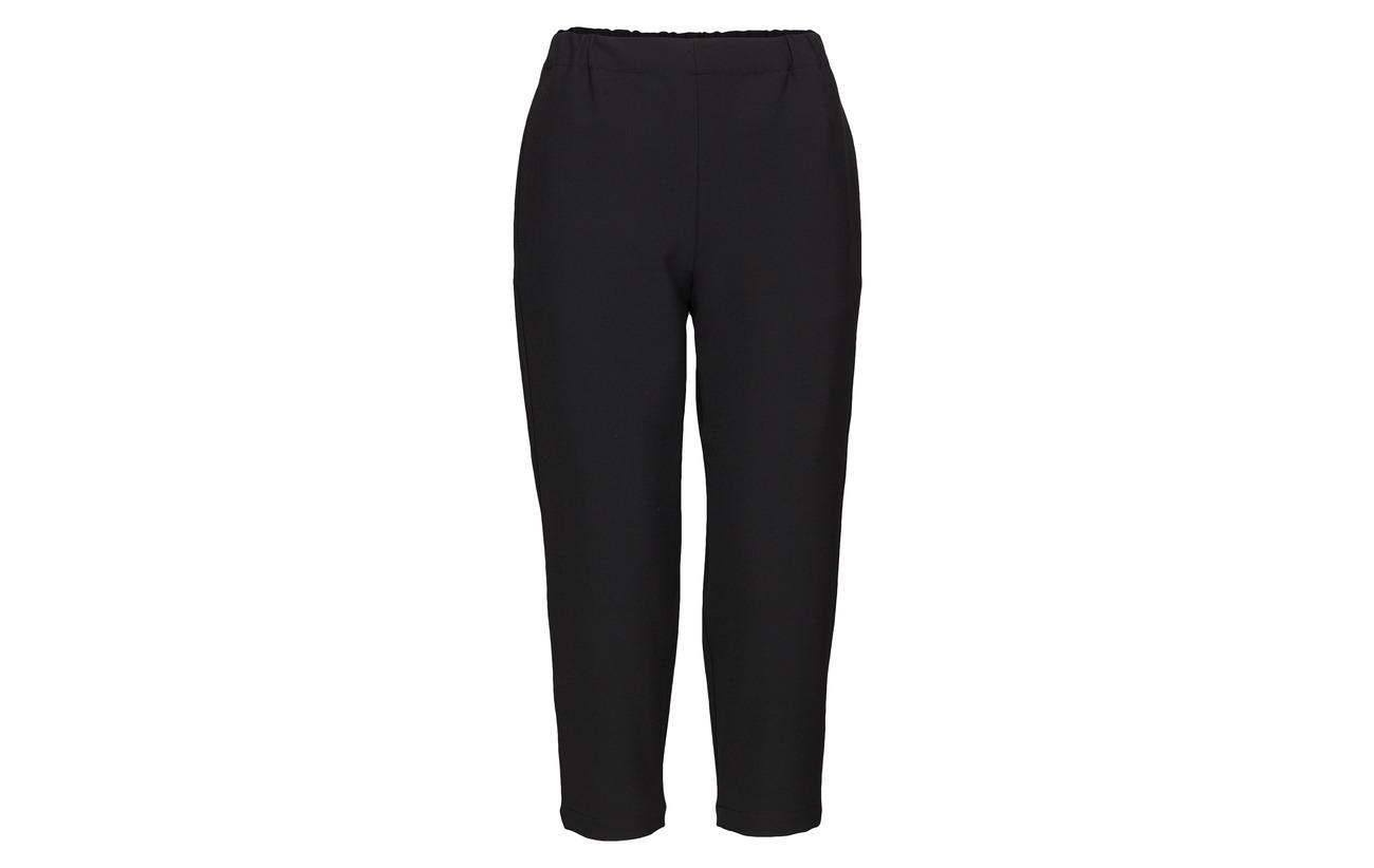 63 Solid 3 27 Black Marimekko Polyester Coton Elena 7 Trousers Elastane Viscose qUxCwBg