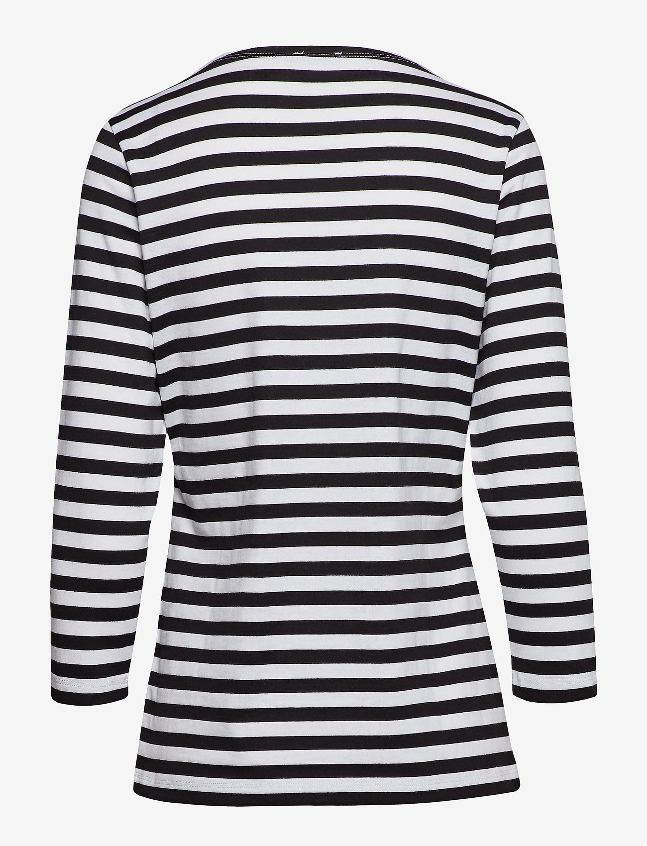 Marimekko - Ilma shirt - langærmede toppe - white, black - 1