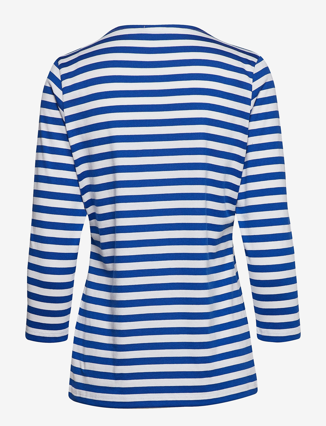 Marimekko - Ilma shirt - langærmede toppe - white, blue - 1