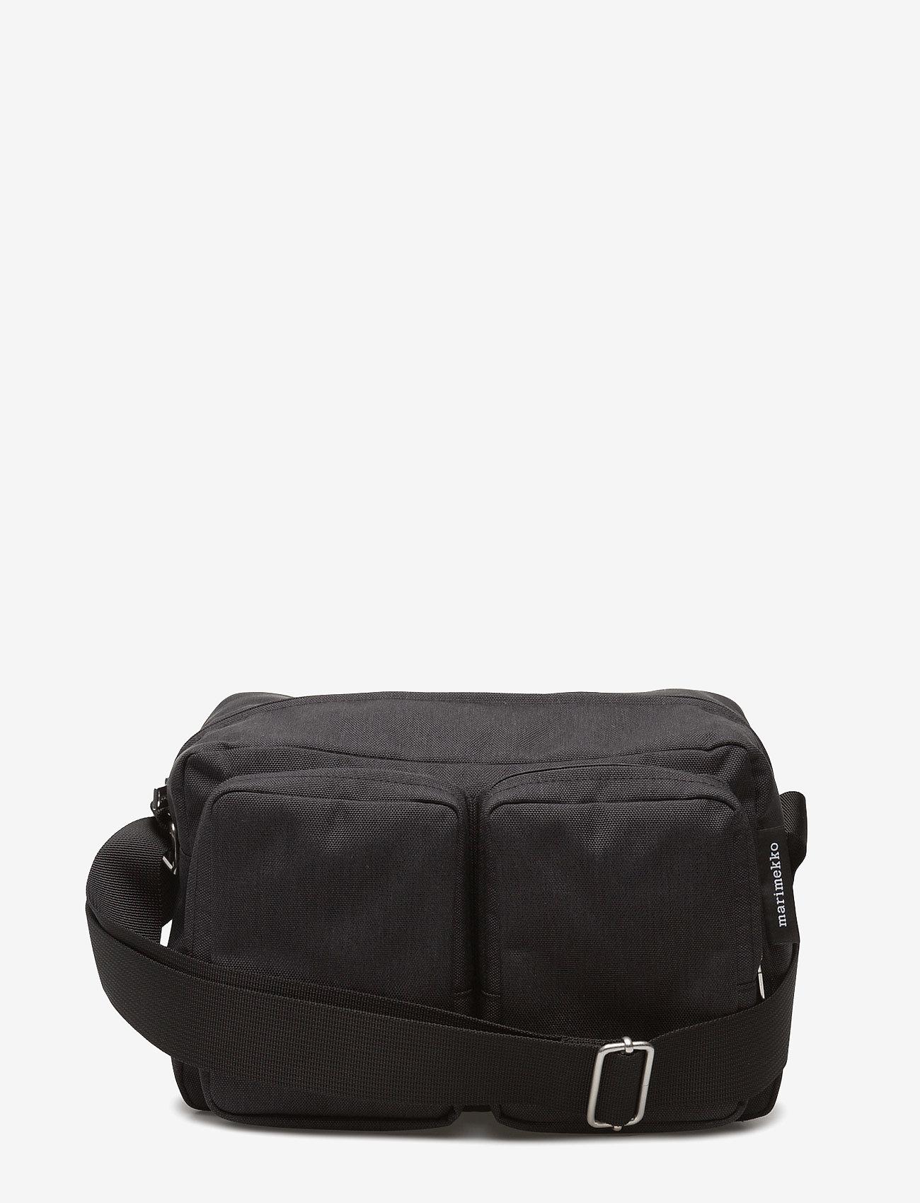 Marimekko - KORTTELI SHOULDER BAG - crossbody bags - black - 0