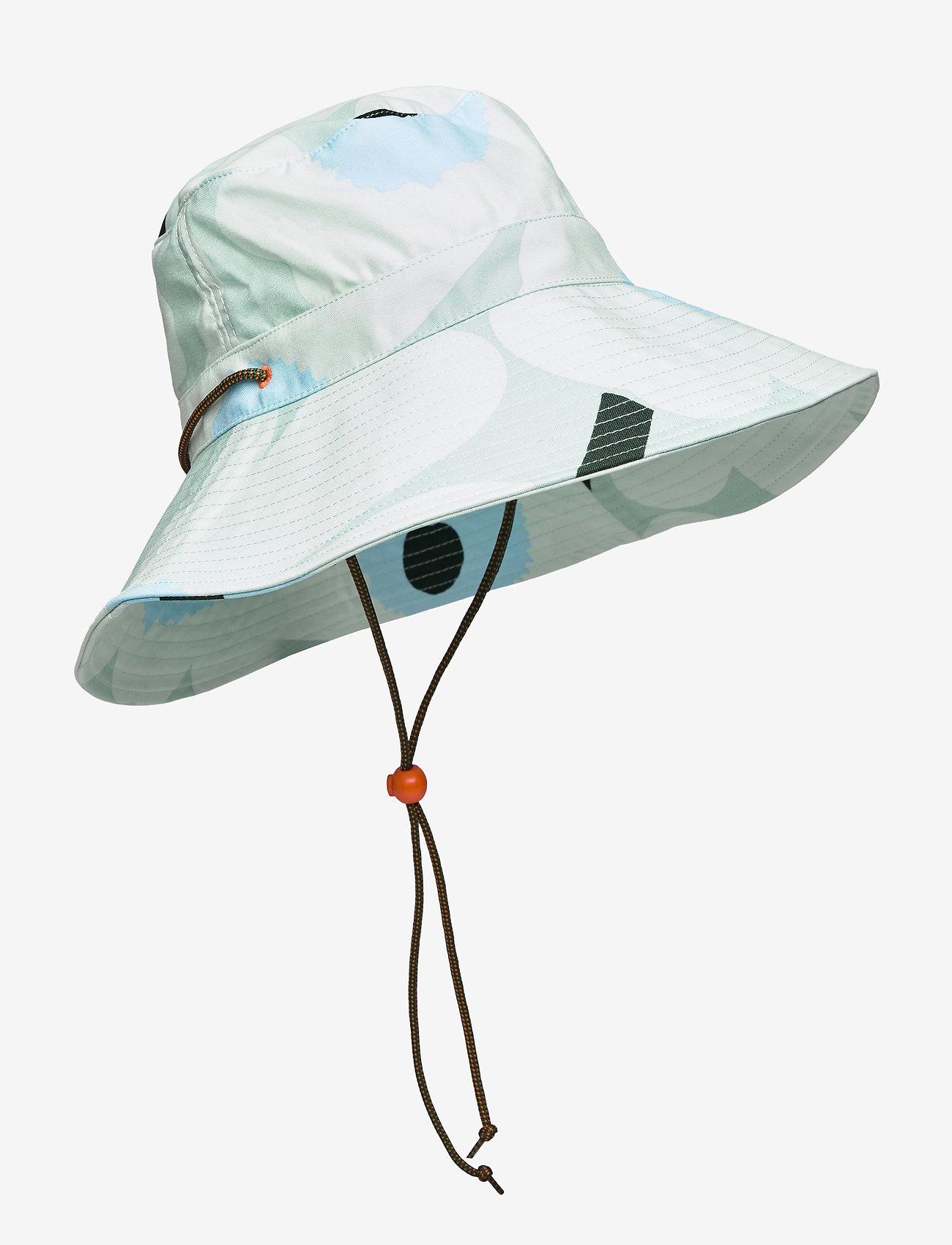 Marimekko - ADOLINA PIENI UNIKKO HAT - emmer hoeden - light turquoise,blue,green - 0