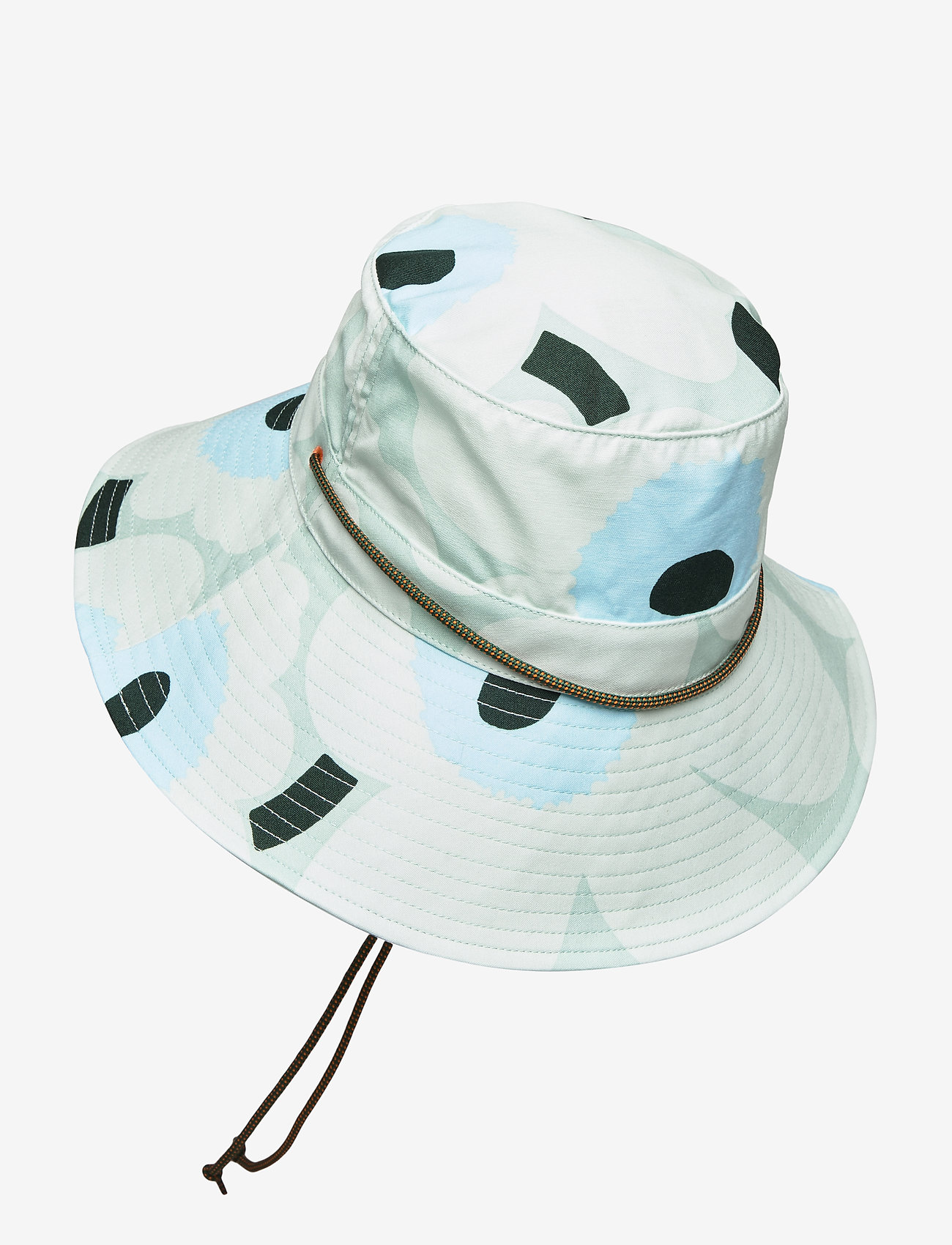 Marimekko - ADOLINA PIENI UNIKKO HAT - emmer hoeden - light turquoise,blue,green - 1