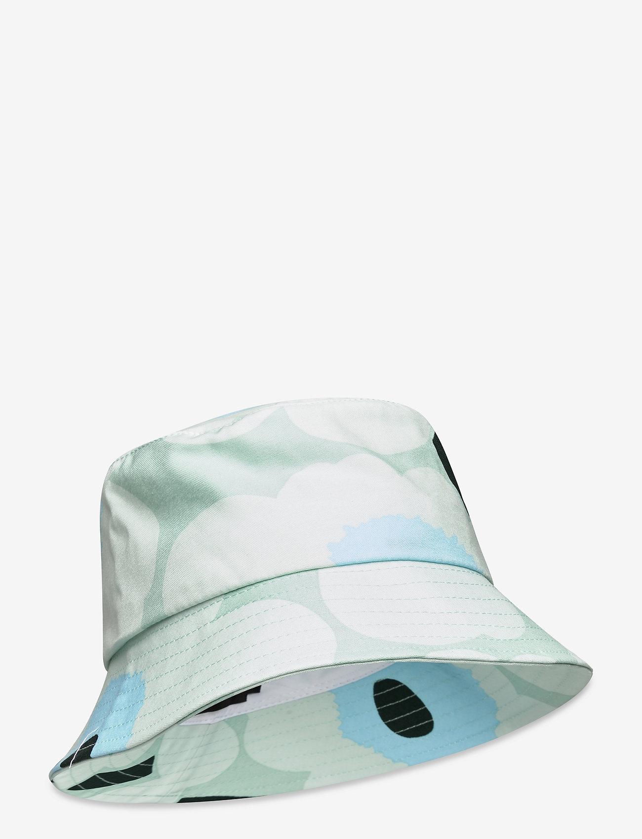 Marimekko - OLEMA PIENI UNIKKO BUCKET HAT - bøllehatte - light turquoise,blue,green - 0