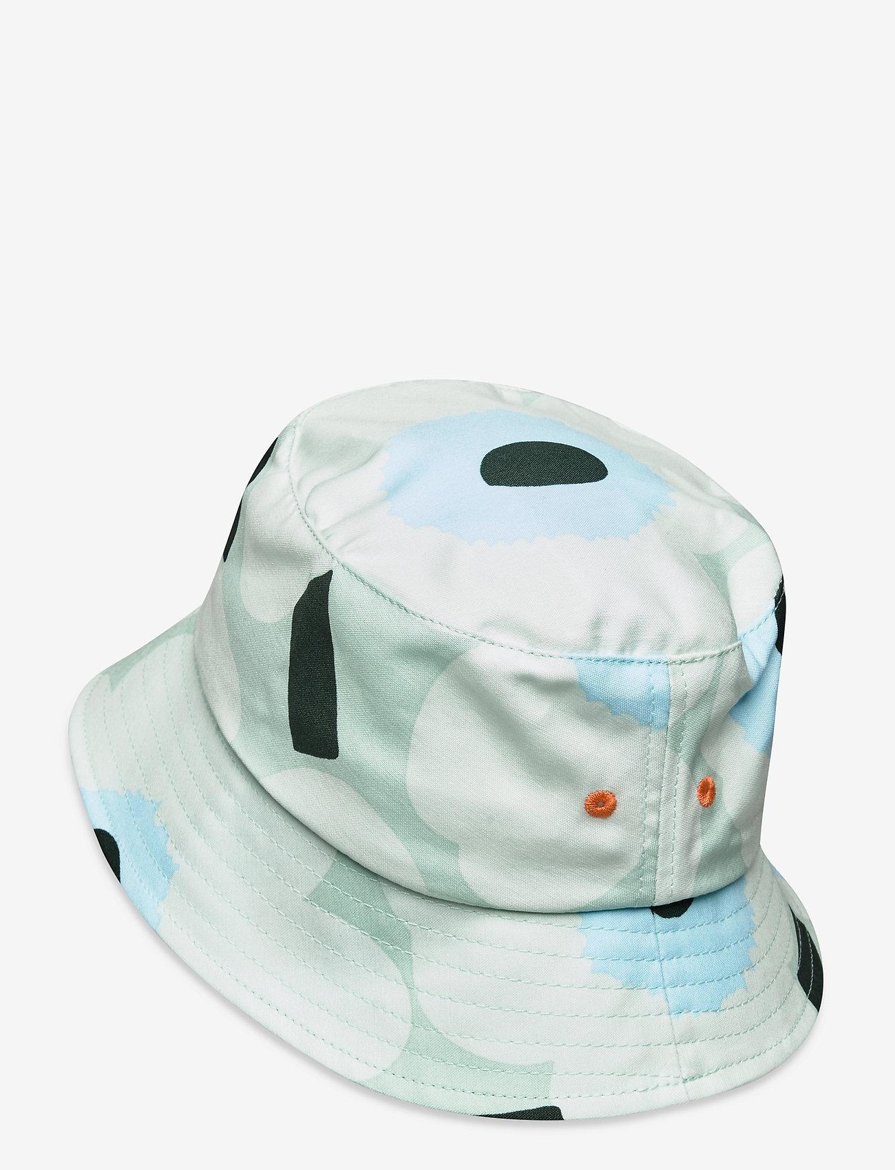 Marimekko - OLEMA PIENI UNIKKO BUCKET HAT - bøllehatte - light turquoise,blue,green - 1