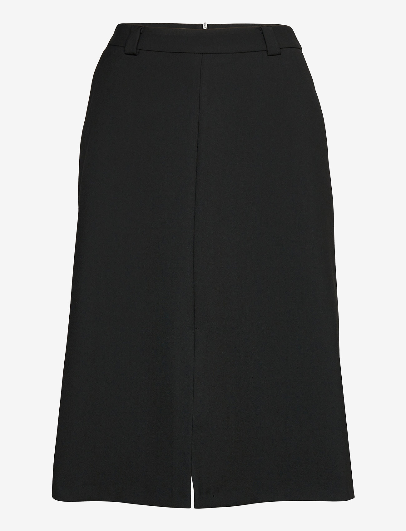 Marimekko - PUJOTELLA SOLID SKIRT - midinederdele - black - 1