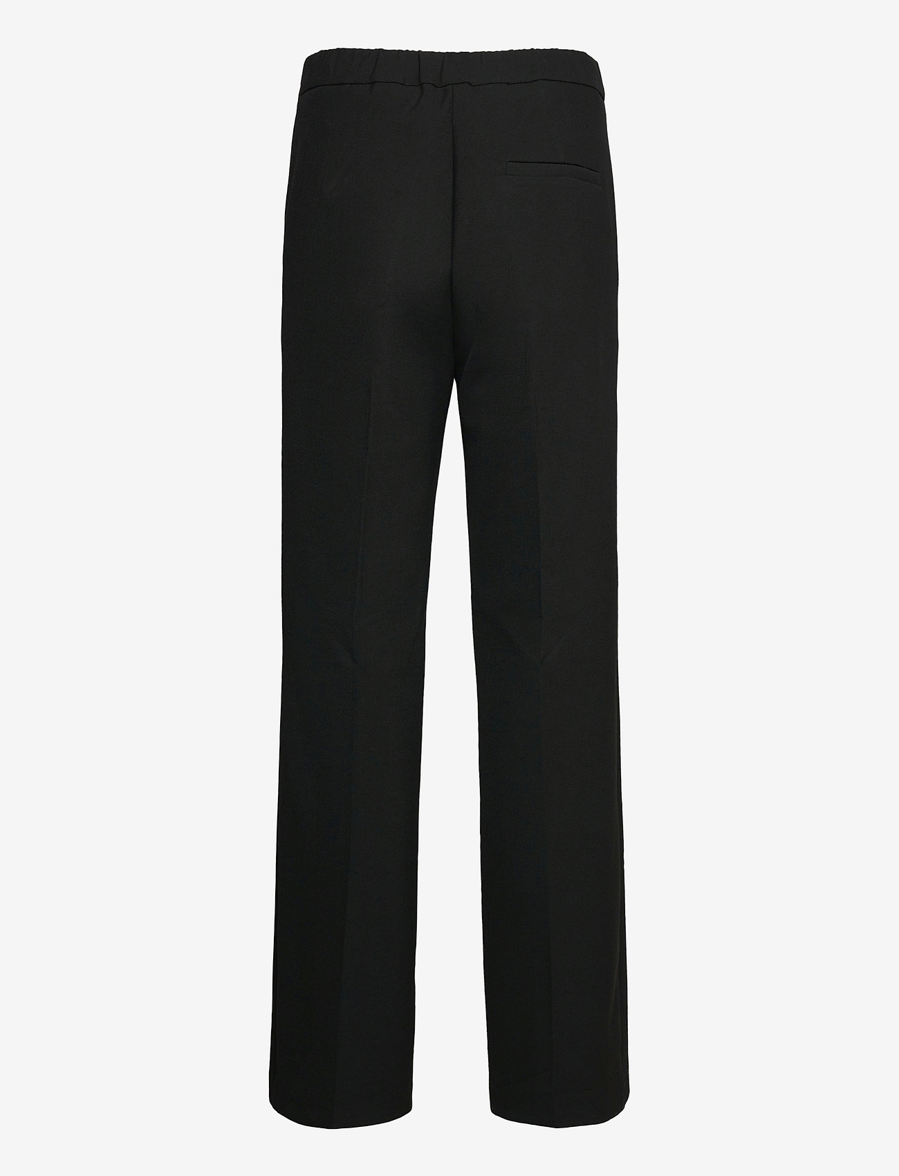 Marimekko - HAKKU LONG SOLID TROUSERS - bukser med lige ben - black - 1