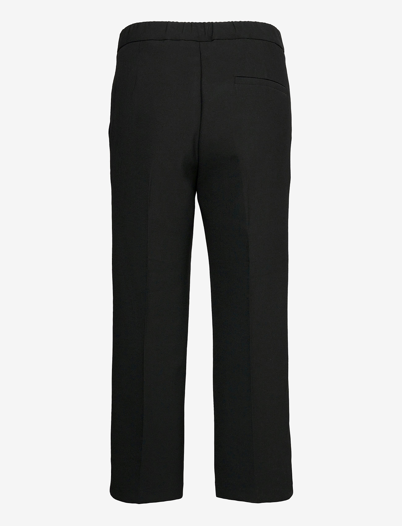 Marimekko - HAKKU SOLID TROUSERS - bukser med lige ben - black - 1