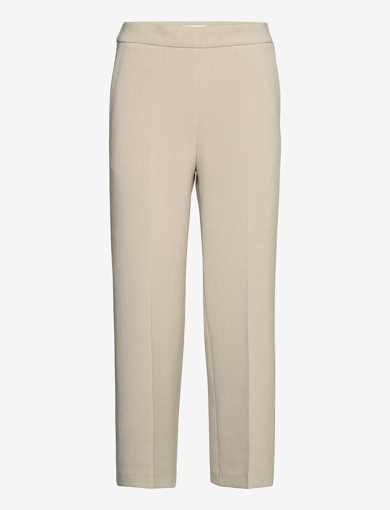 Marimekko - HAKKU COLOR TROUSERS - bukser med lige ben - off-white - 0
